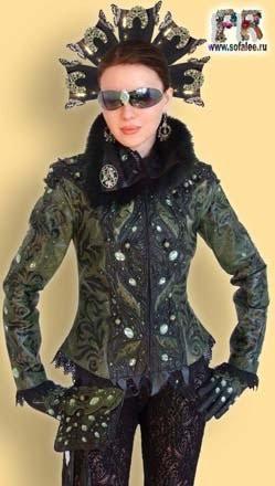"""№31 """"Змеевик"""" Женская брендовая куртка из кожи"""