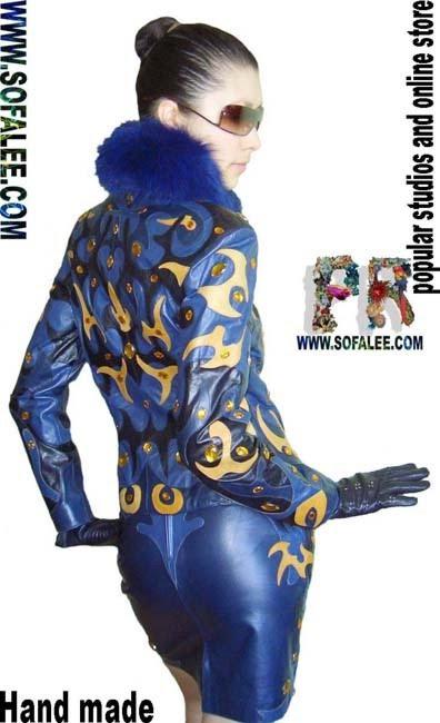 """№33 women leather suit """"Kovir"""""""