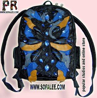 Сумка-рюкзак из кожи