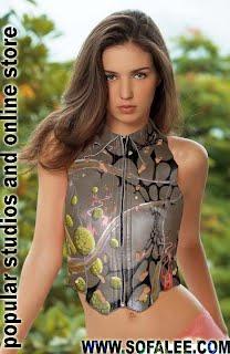 Жилетка роскошная из натуральной кожи.Leather vest