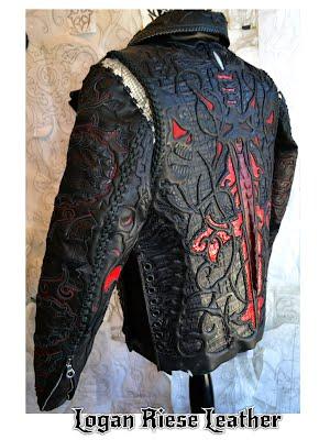 Куртка из крокодила