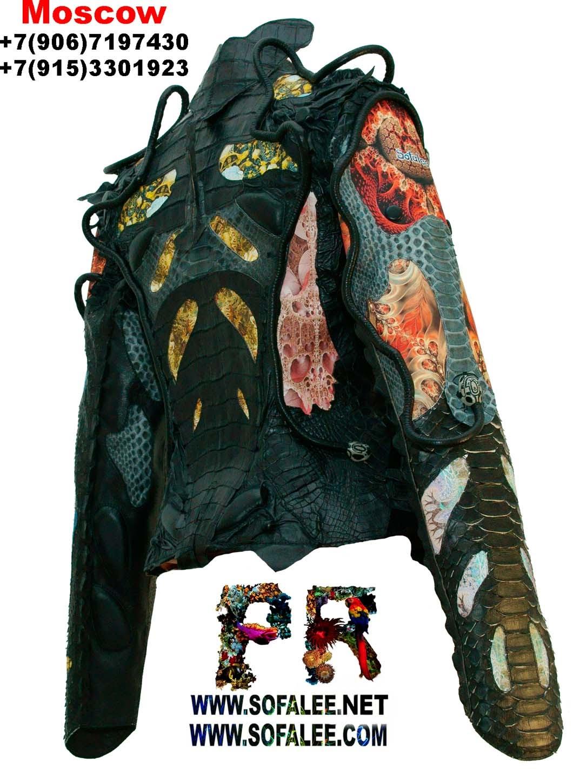 куртки из крокодила 0003