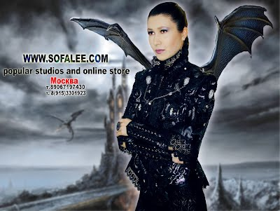 Куртка женская кожаная черная с серебром