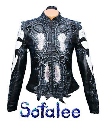 куртка эксклюзивная с принтами 01
