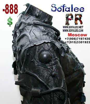 черная кожаная куртка космический стиль 04