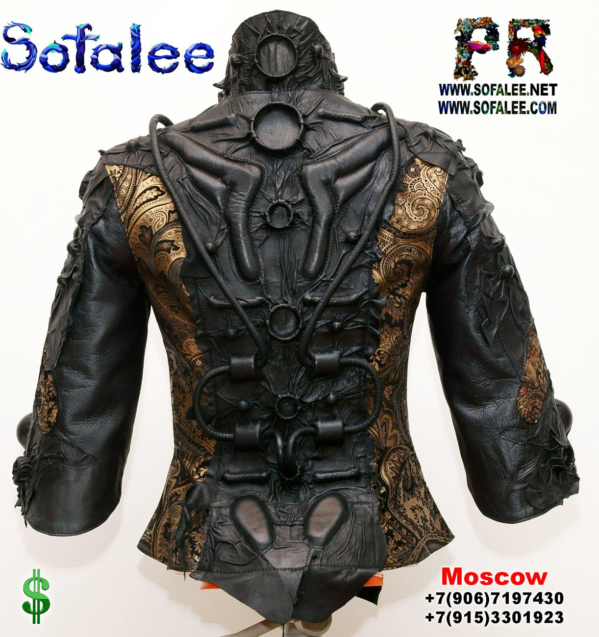Leather jackets women by sofalee 00002