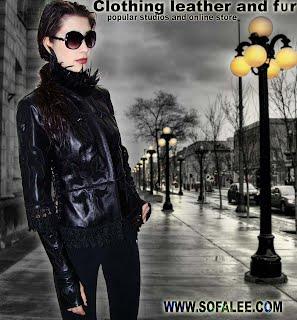 Черная эксклюзивная куртка в единственном экземпляре.