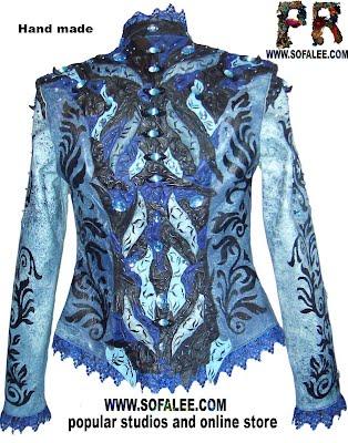 Эксклюзивная куртка-жакет из кожи