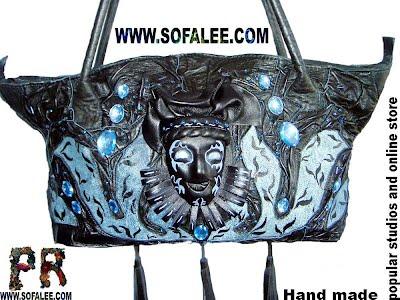 Эксклюзивная handmade сумка из натуральной кожи. Leather bag