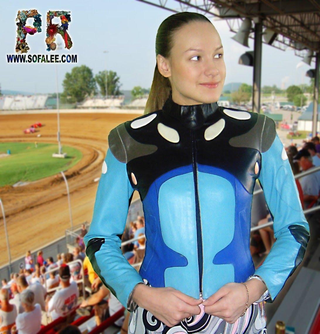 куртка кожаная спортивная женская