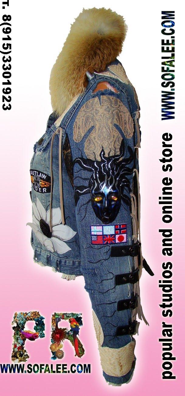 Stylish denim jacket for women