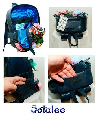 рюкзак кожаный женский 08