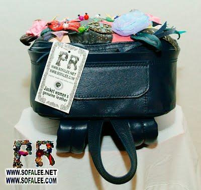рюкзак кожаный женский 000
