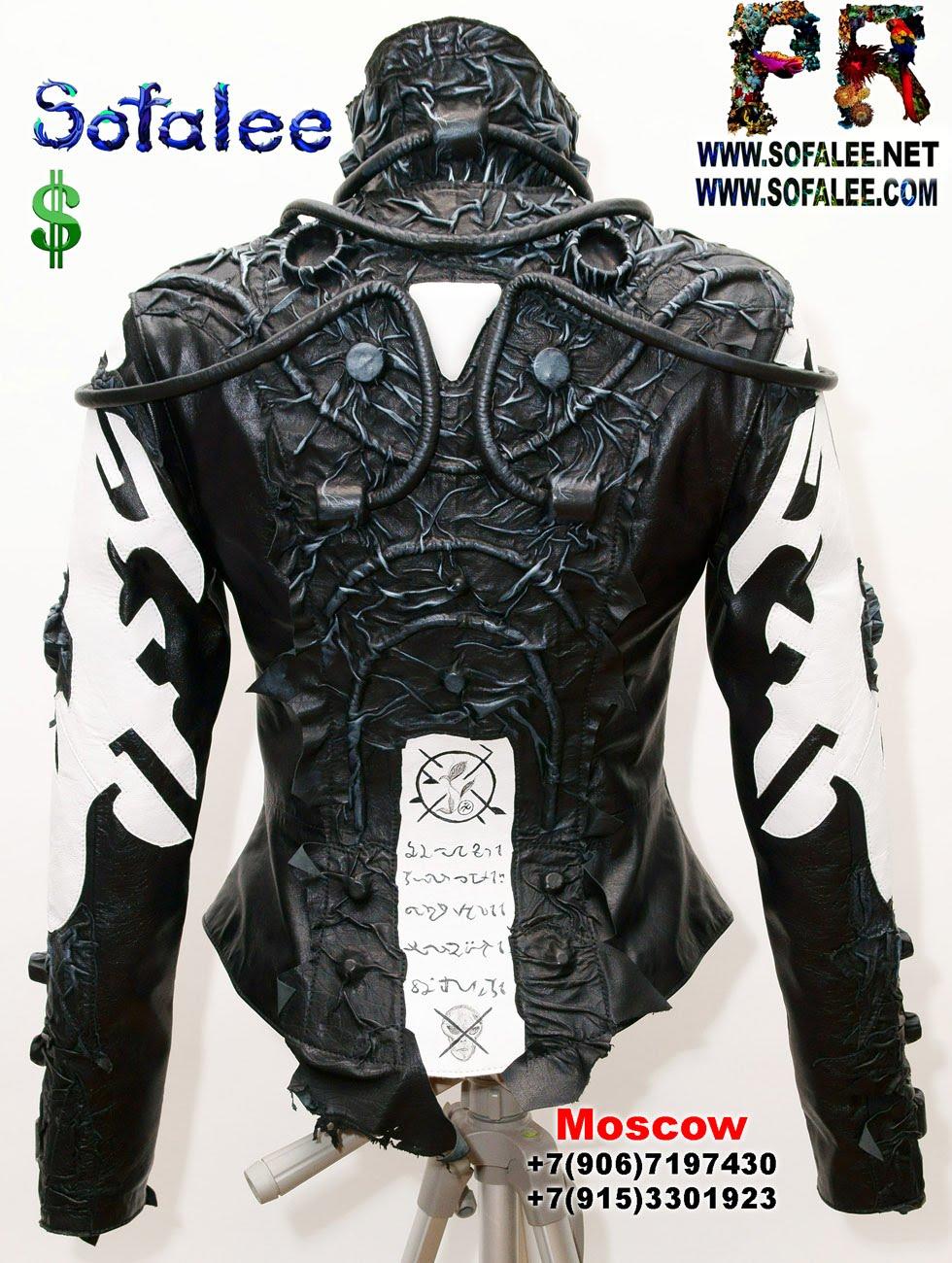 спина крутая кожаная куртка женская