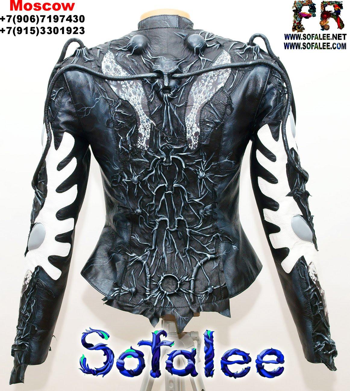 куртка из натуральной кожи 004