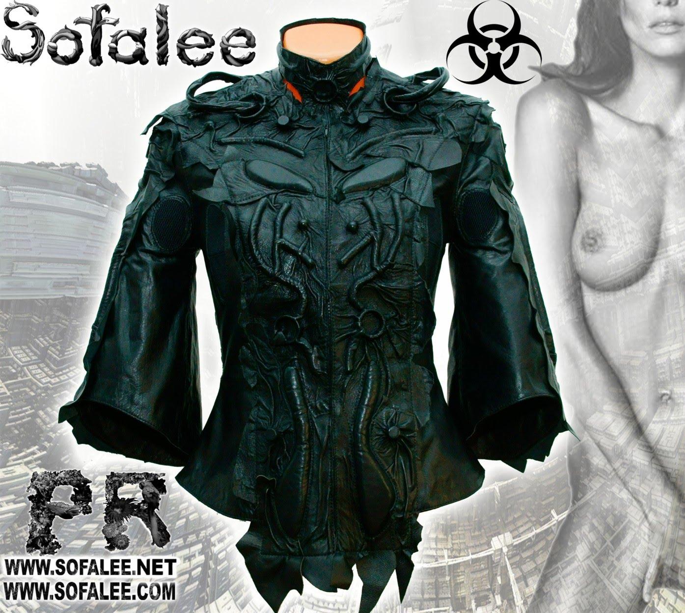 куртка кожаная черная 0