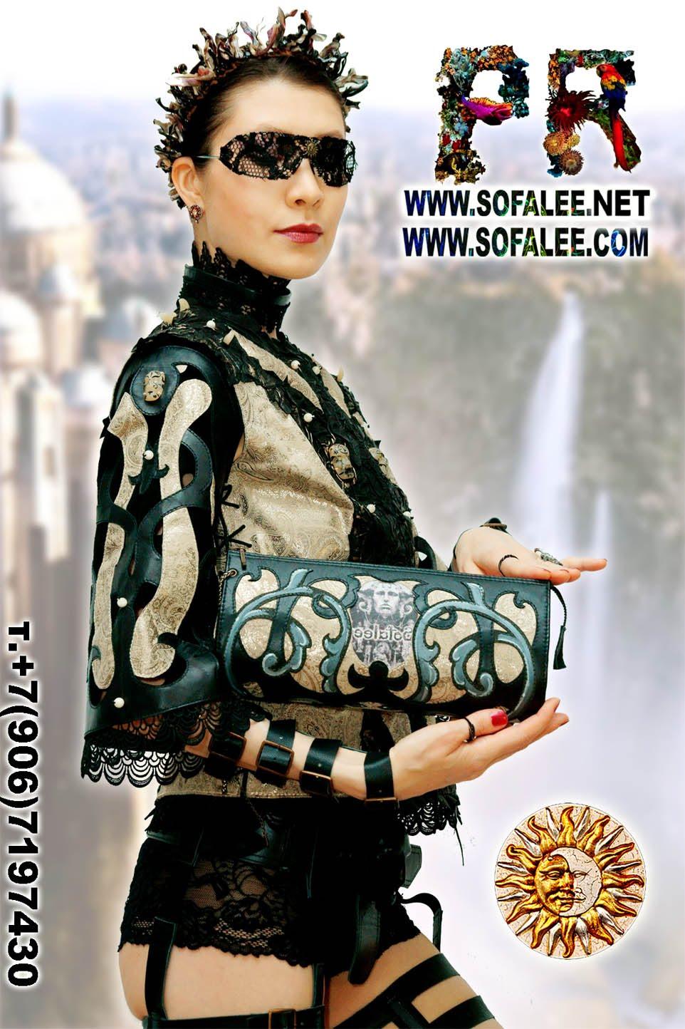 женская куртка жилетка кожаная 1