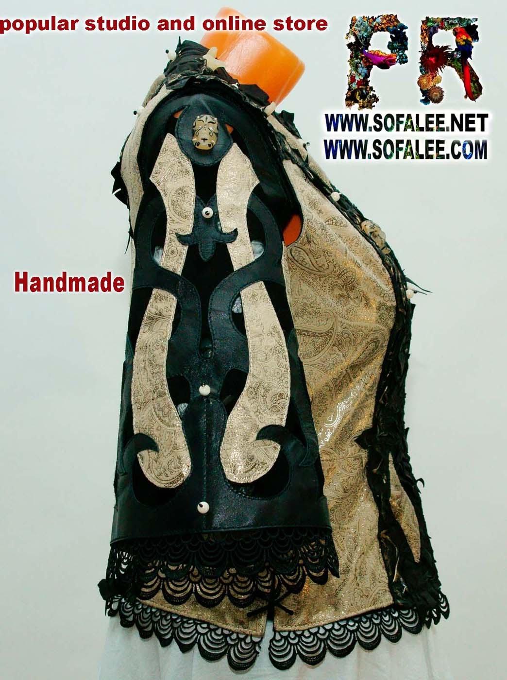женская куртка жилетка кожаная