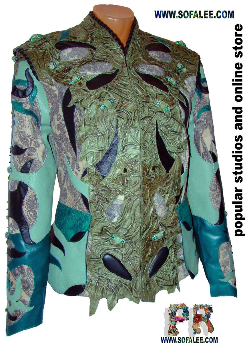одежда женская из натуральной кожи в единственном экземпляре
