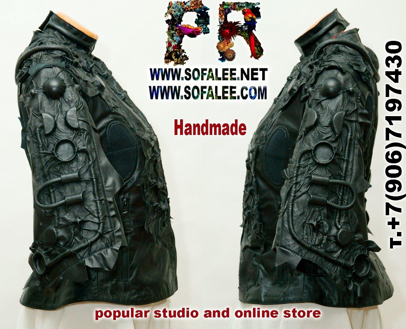 куртка стиль киберпанк женская  001