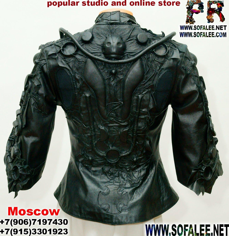 куртка стиль киберпанк женская  02