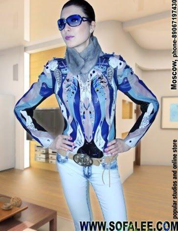 "№7 Lux куртка кожаная ""Amore Psihea"""