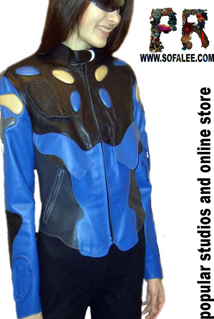 "№42 ""Sport"" jacket leather womens"