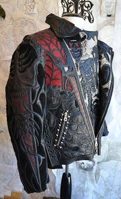 куртки из крокодила питона ската