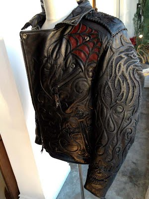 Мужская куртка-косуха из крокодила