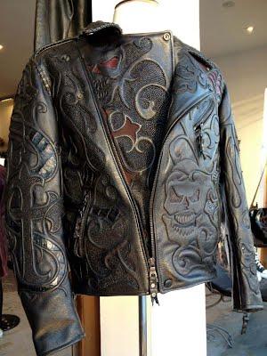 Мужская куртка из питона крокодила