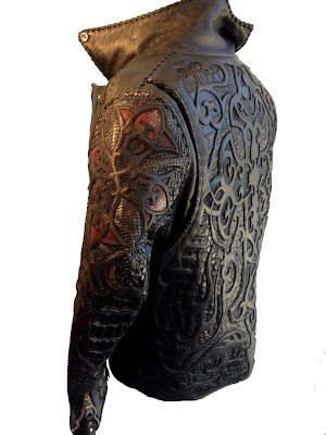 куртка из крокодиловой кожи,ската и питона