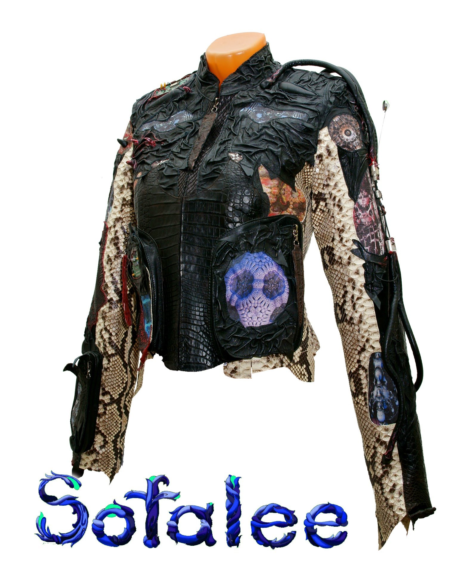 женская куртка кожаная