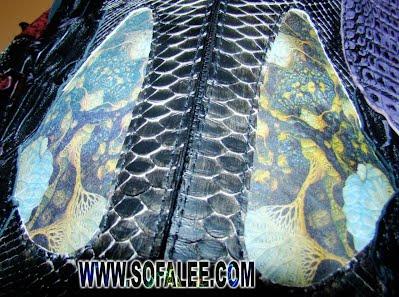 модная куртка из питона и крокодила 11