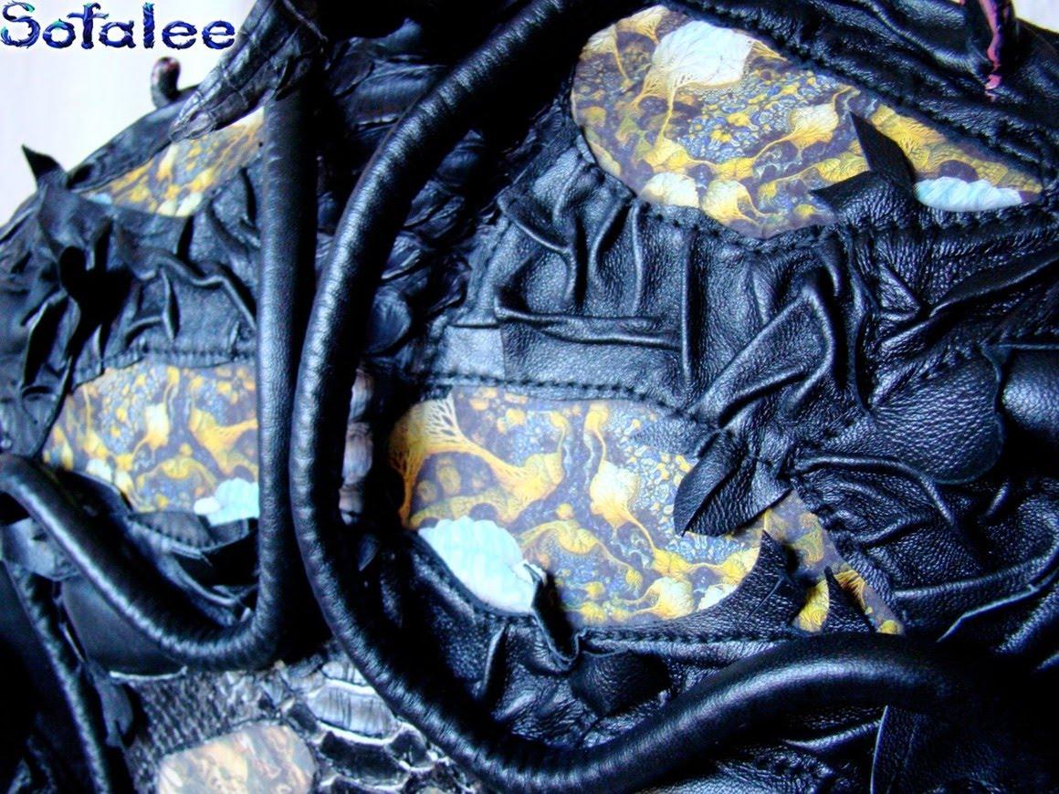 эксклюзивная кожаная куртка в стиле рок 20