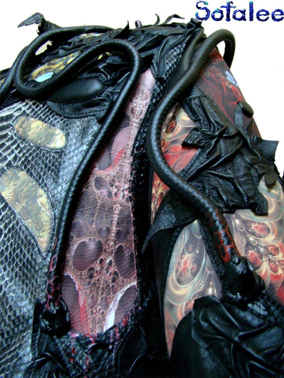 эксклюзивная куртка в стиле рок 2