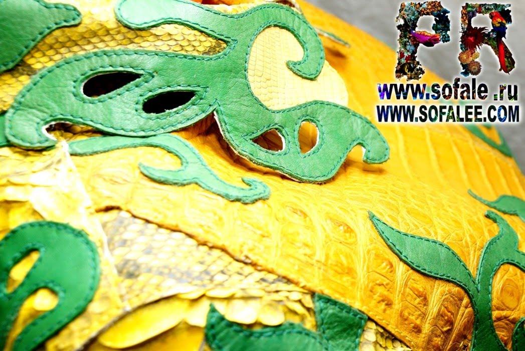 кожаная куртка из питона крокодила игуаны 9