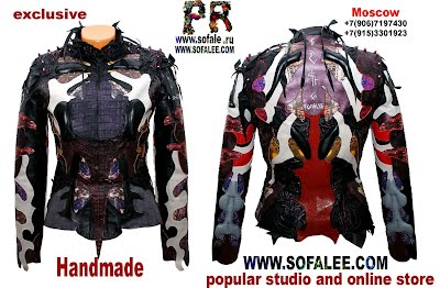 куртка из кожи крокодила питона ската 10