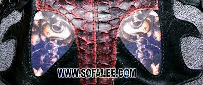 куртка из кожи крокодила питона ската 11
