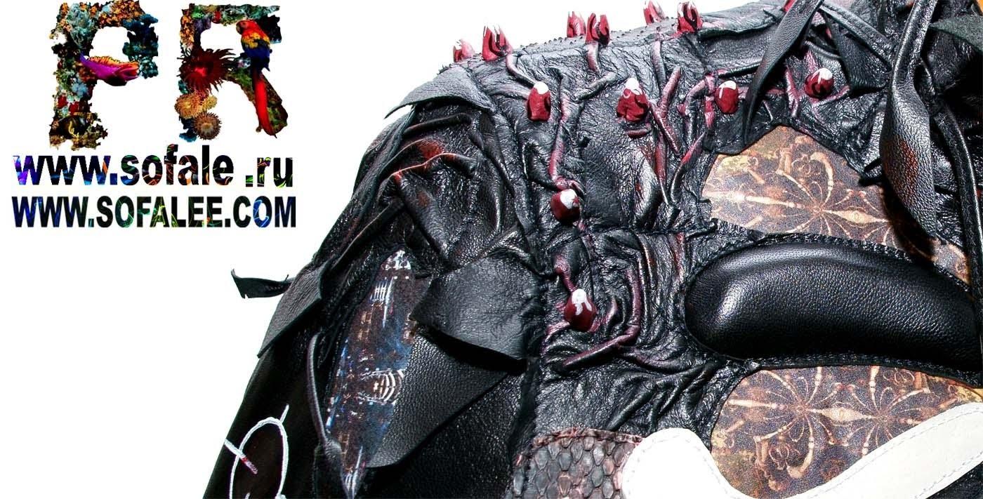 куртка из кожи крокодила питона ската 3