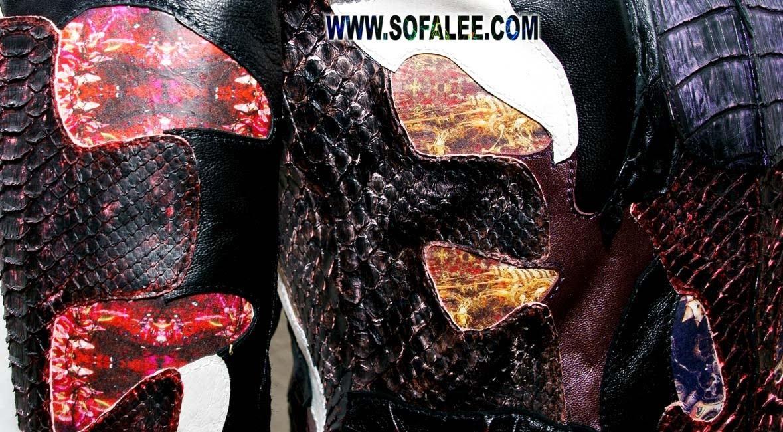 куртка из кожи крокодила питона ската 12
