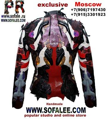 куртка из кожи крокодила питона ската 2