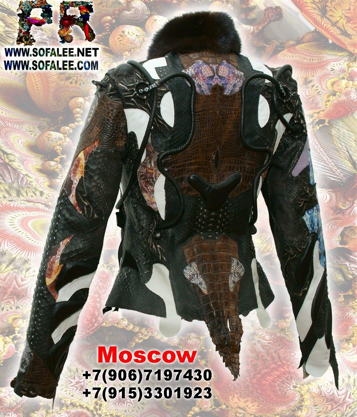 курточка из аллигатора питона ската 00