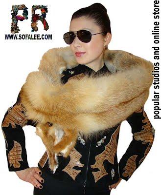 Женский жакет из кожи крокодила. Womens jackets of crocodile skin