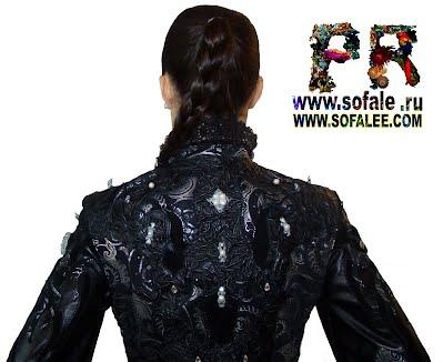 Куртка женская кожаная фото