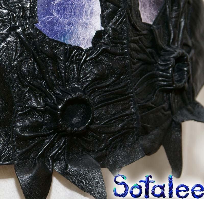 деталь стильная куртка из кожи 0