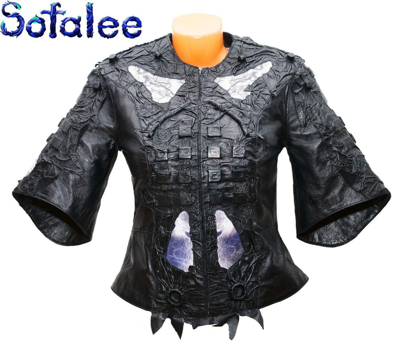 стильная куртка из кожи 01
