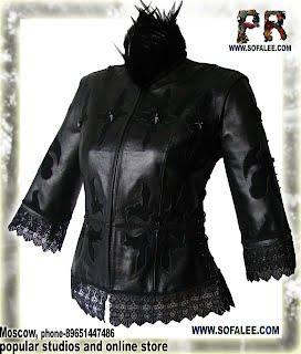 Модная кожаная куртка-жилетка трансформер