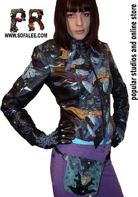 Chic womens jacket.