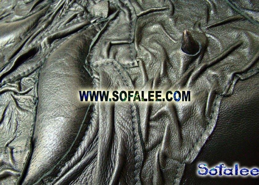 фрагмент куртки кожаной