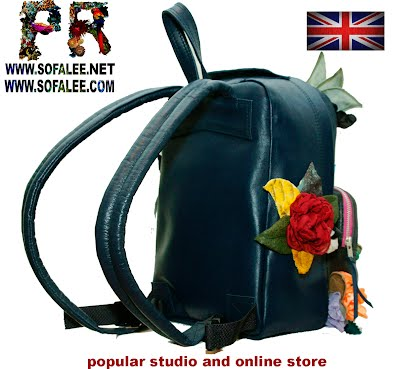 genuine leather backpack 003